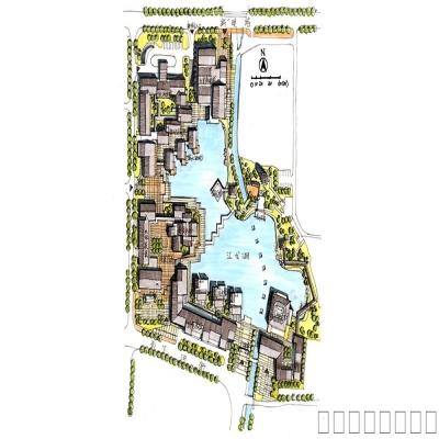 规划设计手绘表现作品